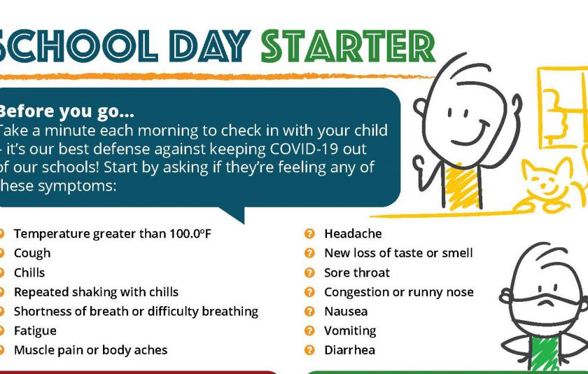 School day start cropped image