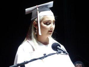 emma mathes at graduation